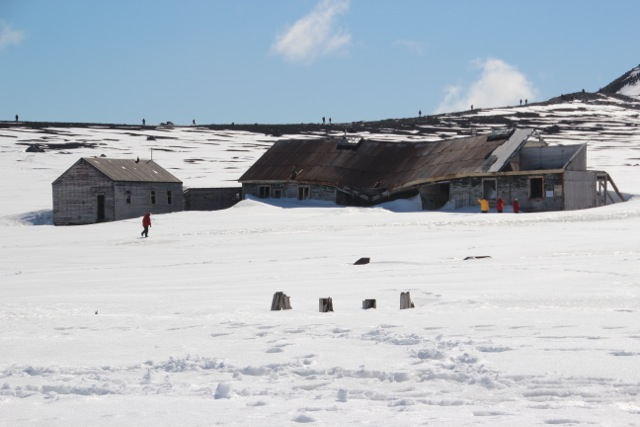 längst verlassen ist die Walfangstation