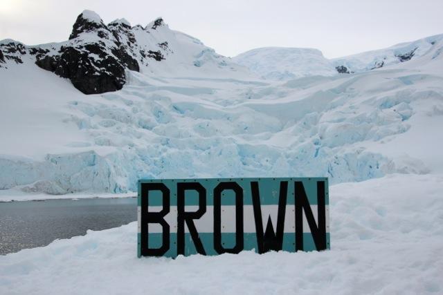 Base Brown in der Antarktis