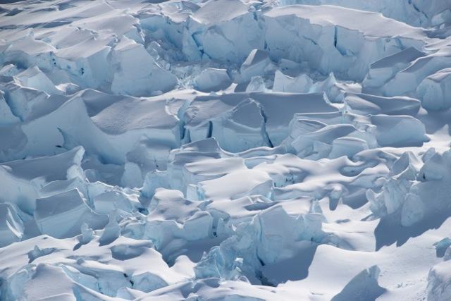 Gletscher in wundervollstem Blau