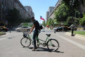 """Wir haben bei """"Bicicleta Verde"""" ein Tandem gemietet"""