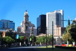 Skyline von Adelaide