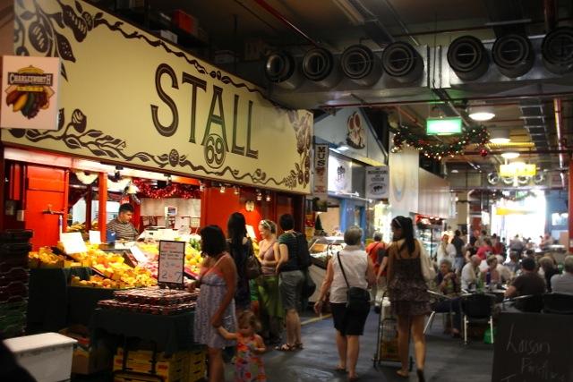Adelaide kulinarisch: an den Ständen im Central Market