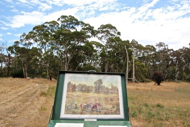 Hans Heysen war einer der berühmtesten Landschaftsmaler Australiens