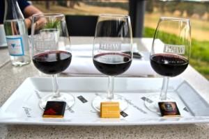 köstlich – Rotwein und Schoki