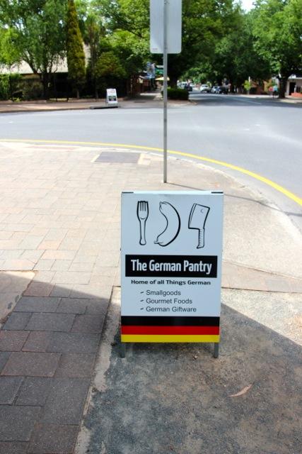Deutsche Wurst in Australien