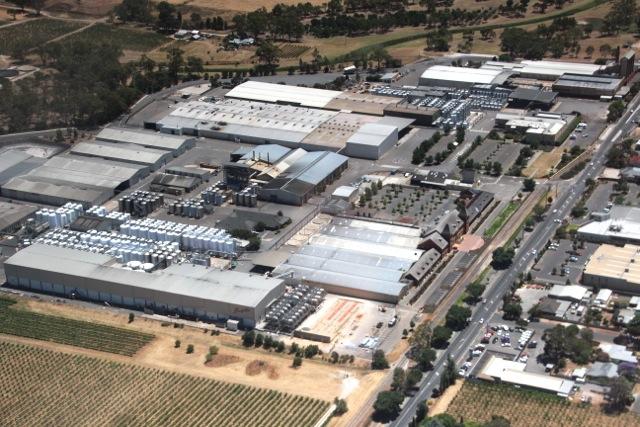 die Penfolds Winery ist eine der ältesten Australiens und eine der ertragreichsten