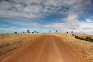 Gravelroads auf Kangaroo Island