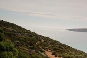 Blick über die West Bay