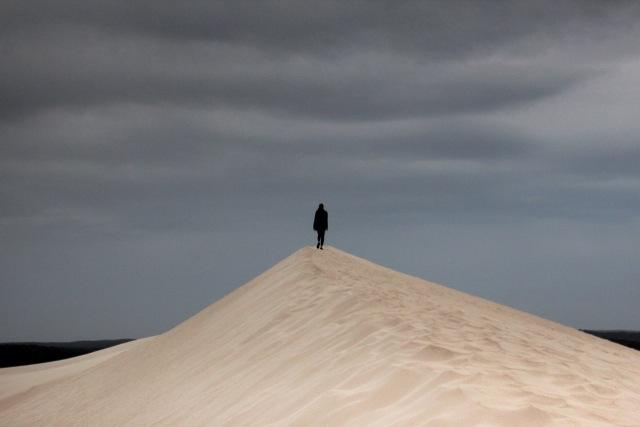 """70 Meter hoch sind die Sanddünen der """"Little Sahara"""""""