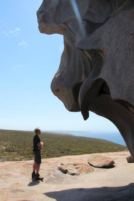 """Remarkable Rocks"" heißen diese bemerkenswerten Granitfelsen."