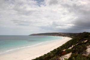 drei Kilometer feinster Strand