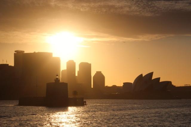 Sydney von de rFähre aus gesehen