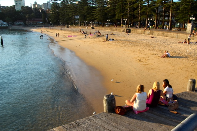 Strand in Manly
