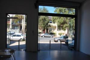 Blick aus der Galerie Sullivan + Strumpf