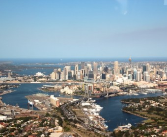 Landeanflug auf Sydney