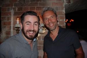 Simon und Dirk im Baxxter Inn