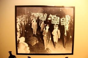 Foto während der Prohibition
