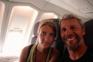 letzter Flug unseres Sabbaticals