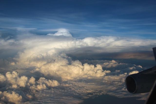 großartiger blick von oben auf Downunder