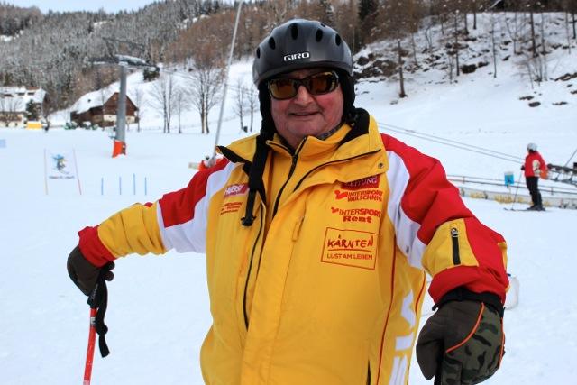 der Hubsi von der Skischule