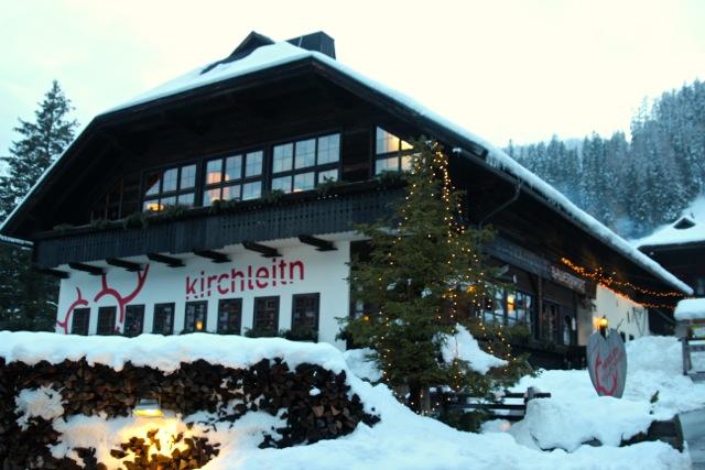 Das Hotel Kirchleitn im Schnee