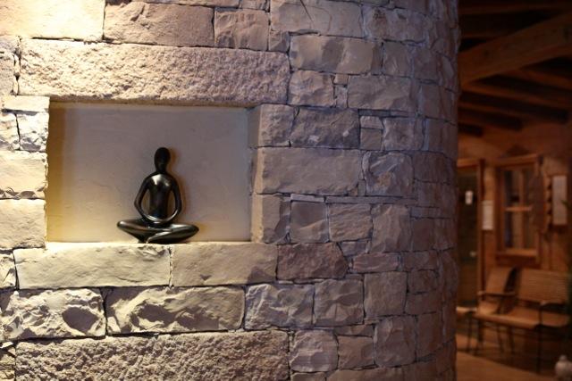 Ruhe findet man leicht im Sauna-Bereich