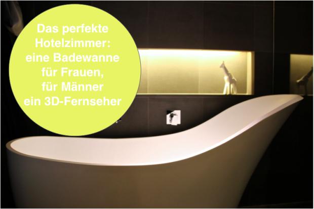 der Traum für viele Frauen – eine Badewanne