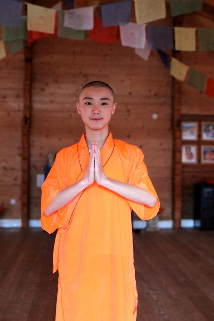 seit vielen Jagen kommen Shaolin-Meister  ins Hotel