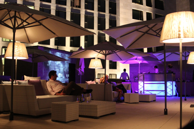 Die Bar des Waldorf Astorias