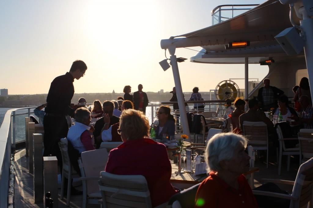 Abendstimmung im Yacht-Club