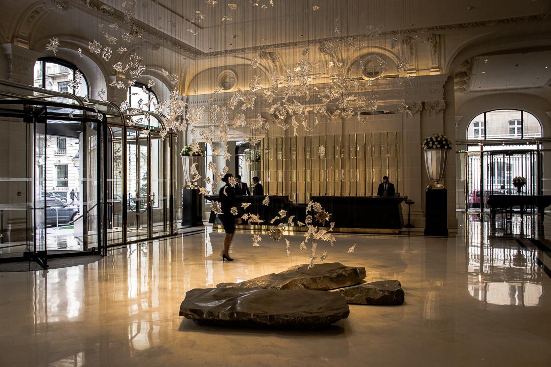 Grand Hotel mit Klasse - das Peninsula in Paris